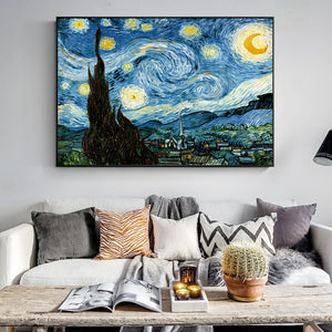 Van Gogh's The Starry Night Wall Art - Art Store