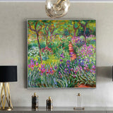 Claude Monet 'The Artist's Garden at Giverny'  Wall Art - Art Store