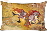 Gustav Klimt Inspired Rectangle Pillow Case - Art Store