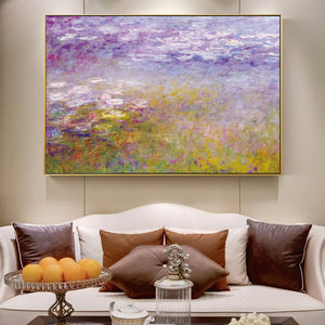 Claude Monet 'Water Lilies'  Impressionist Wall Art - Art Store