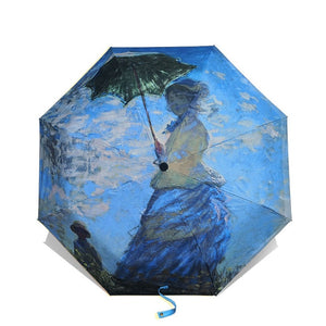 "Claude Monet ""Madame Monet and Her Son"" Umbrella - Art Store"