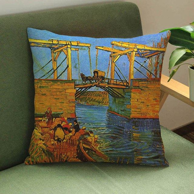 High Quality Van Gogh Oil Painting Pillow Cases - Art Store