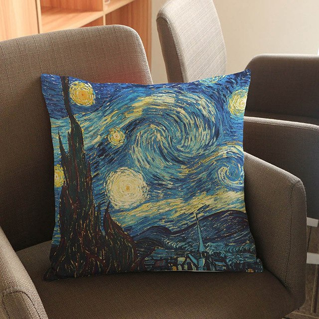 Van Gogh Paintings Inspired Pillow Case - Art Store