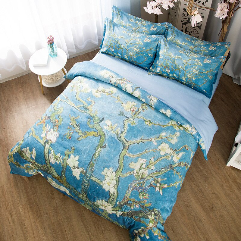 Almond Blossom Bedding Duvet Cover Sets