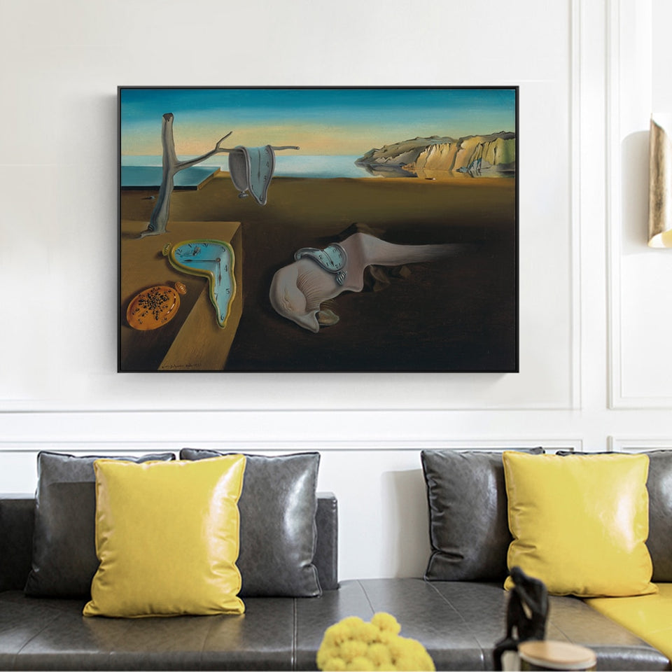 Dali 'The Persistence of Memory' Wall Art - Art Store