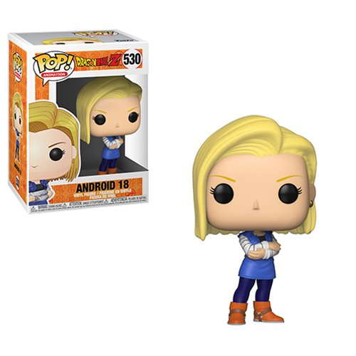 Funko Dragon Ball Z Android 18 Pop! Animation #530 Figure