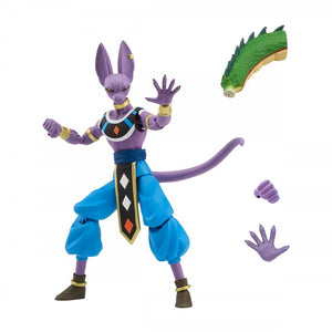 Dragon Ball Stars Wave 1 Beerus Action Figure