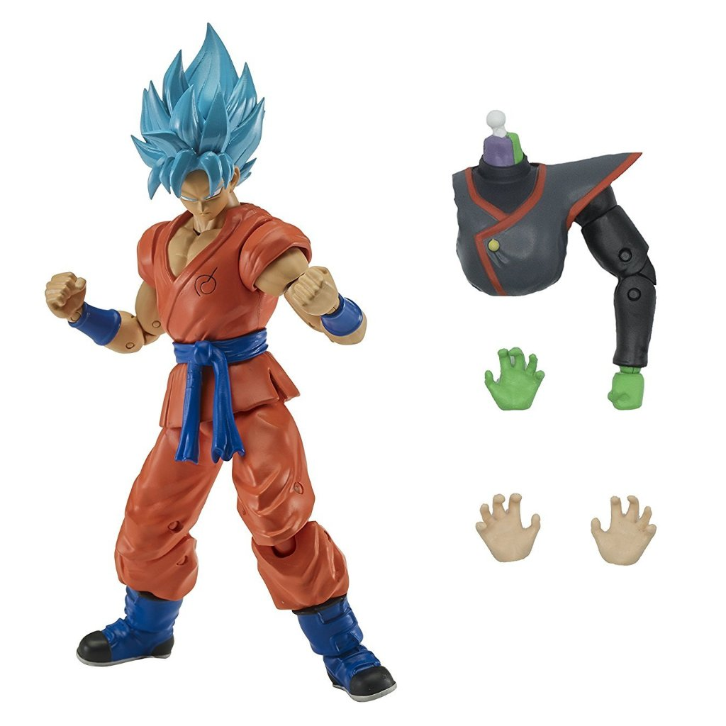 Dragon Ball Stars Wave 3 Super Saiyan Blue Goku Action Figure