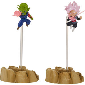 Dragon Stars Nano Super Saiyan Rosé Goku Black vs Piccolo