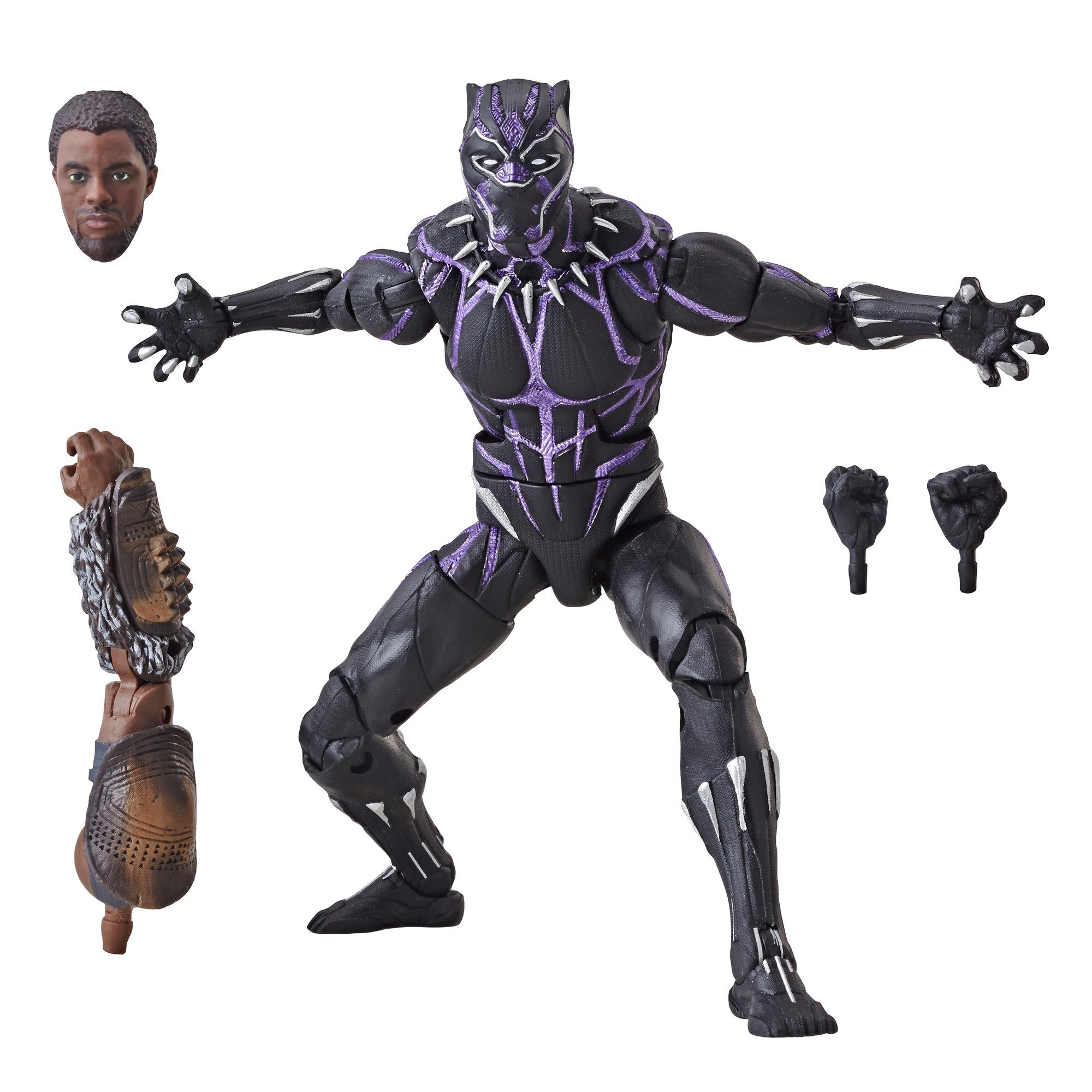 Marvel Legends Black Panther Wave 2 Vibranium Black Panther Action Figure