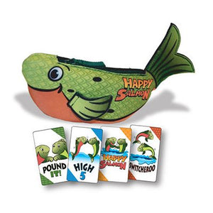 Happy Salmon The High Fivin' Fin-Flappin' Card Game