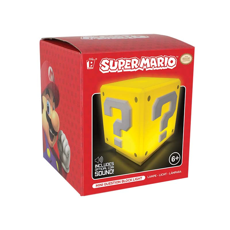 Super Mario Mini Question Block Light