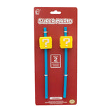 Super Mario Straws (set of 2)