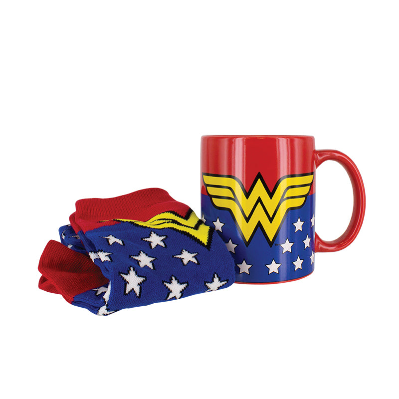 Wonder Woman Mug and Sock Set