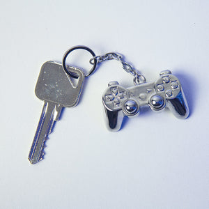 Playstation Metal Keyring