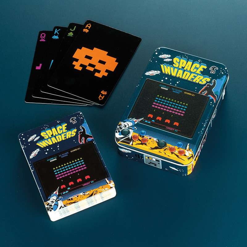 Space Invaders Playing Cards