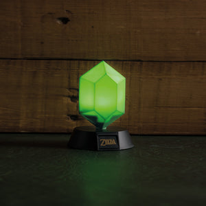 Green Rupee 3D Light