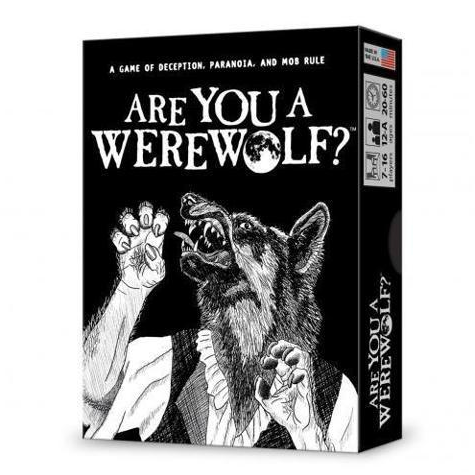 front of Are You A Werewolf box