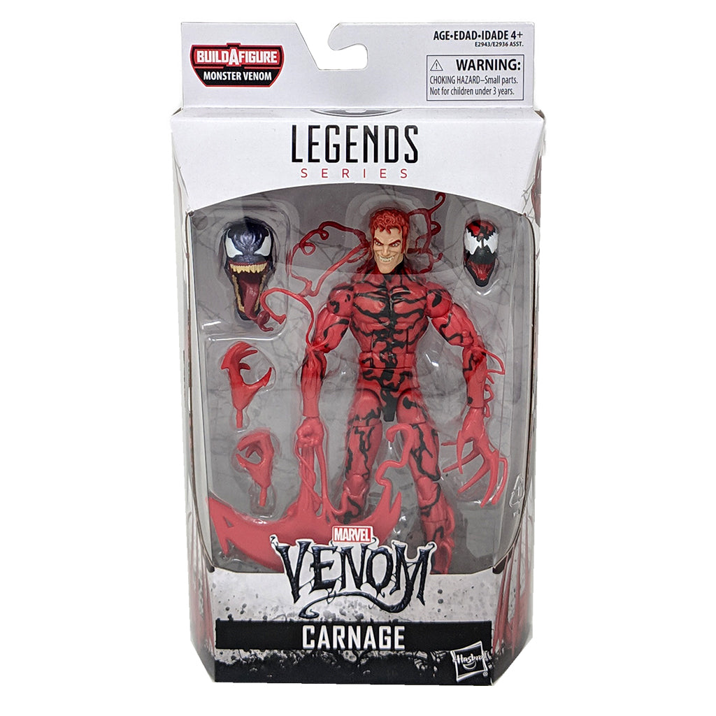 Venom Marvel Legends Carnage Action Figure