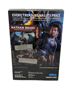 NECA Uncharted 4: A Thief's End Nathan Drake Ultimate Edition Action Figure
