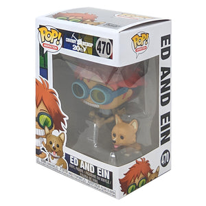 Cowboy Bebop Ed and Ein Pop! Vinyl Figure and Buddy #470