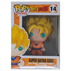 Funko Dragon Ball Z Super Saiyan Goku #14