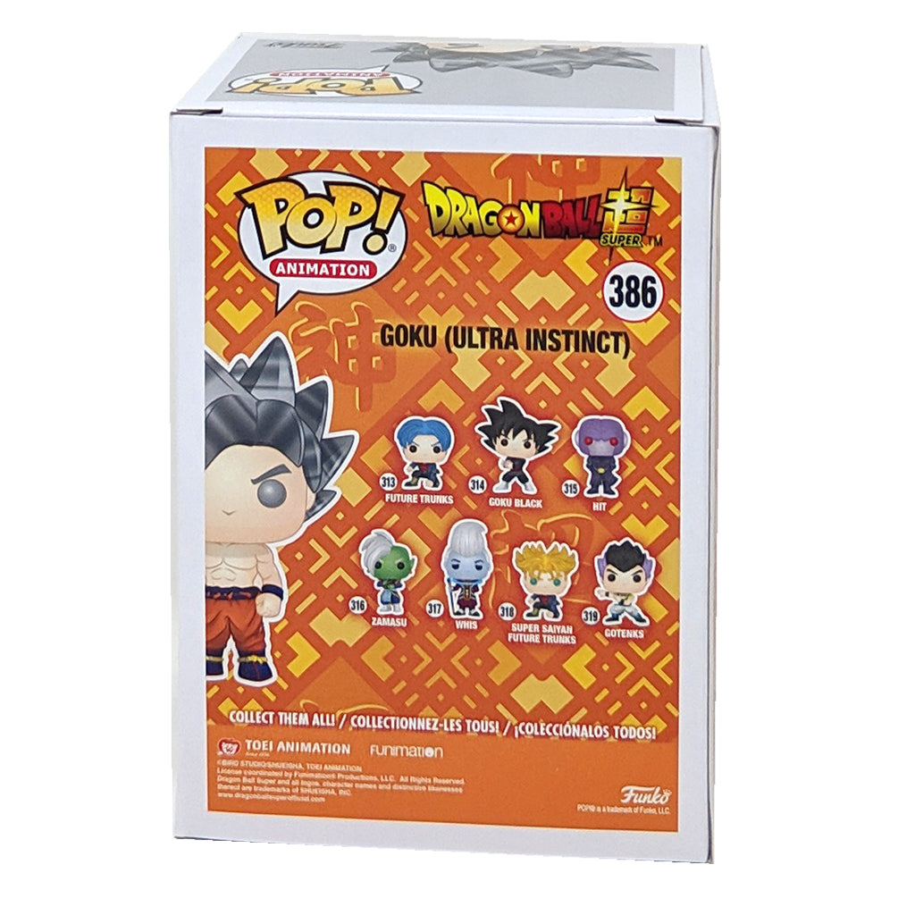 Dragon Ball Super Goku Ultra Instinct Form Pop! Vinyl Figure #386