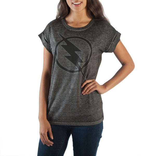 DC Comics Flash Rolled Sleeve T-Shirt