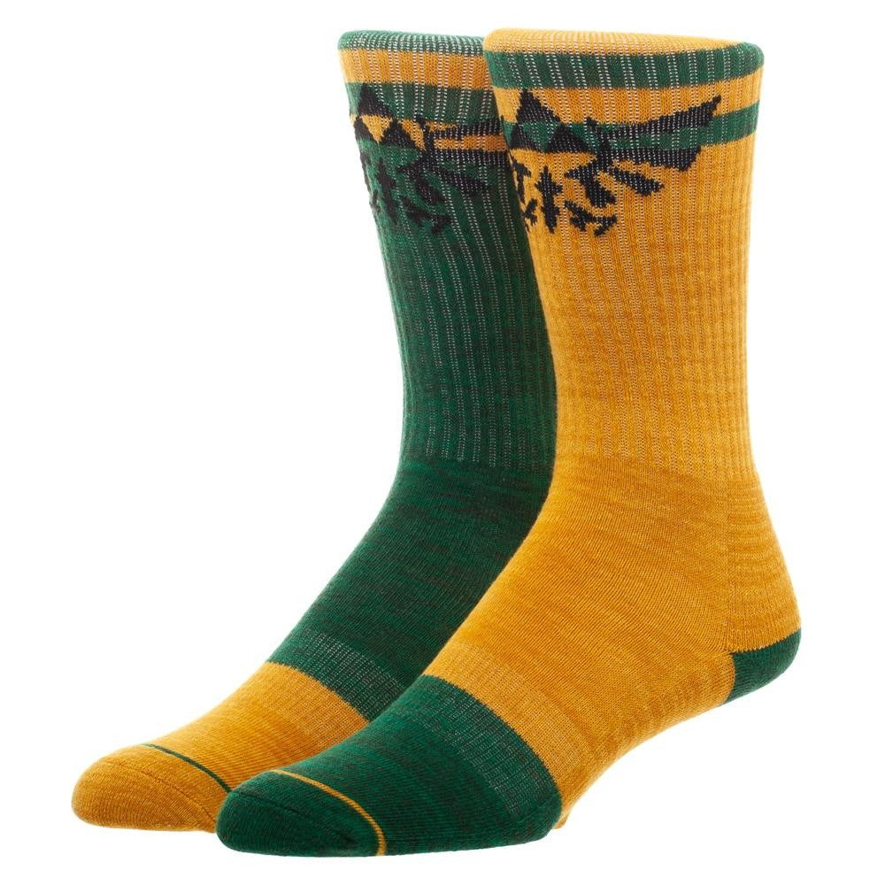 The Legend of Zelda Flipped Color Crew Socks