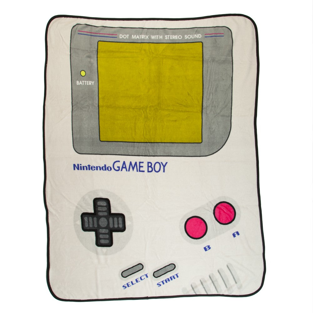 Game Boy Throw Blanket