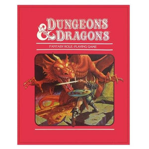 Dungeons & Dragons Plush Throw Blanket