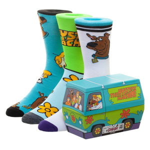 Scooby Doo Crew Sock Mystery Machine Gift Box