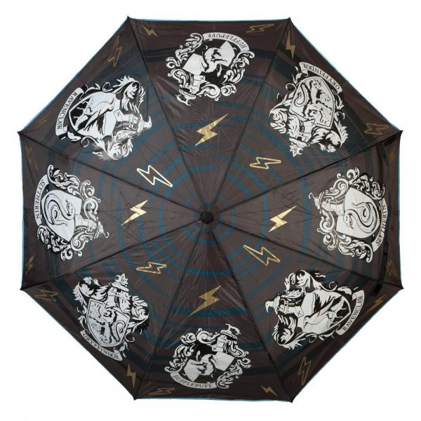 Harry Potter Crest Liquid Reactive Umbrella