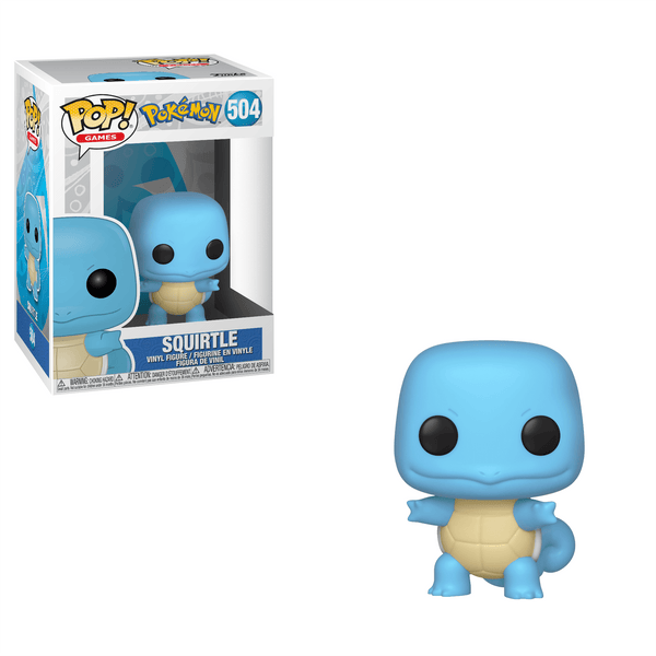 Squirtle figure with box