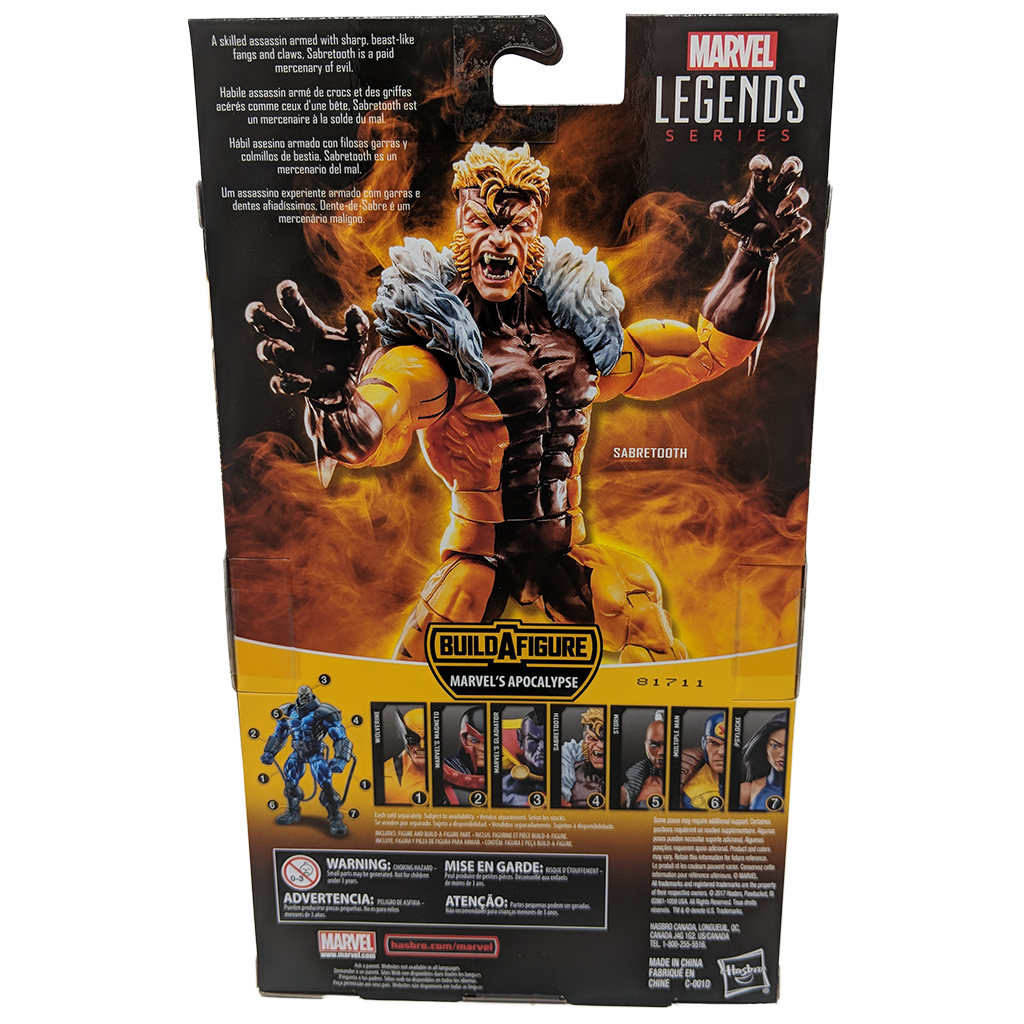 X-Men Marvel Legends Series Sabretooth Action Figure