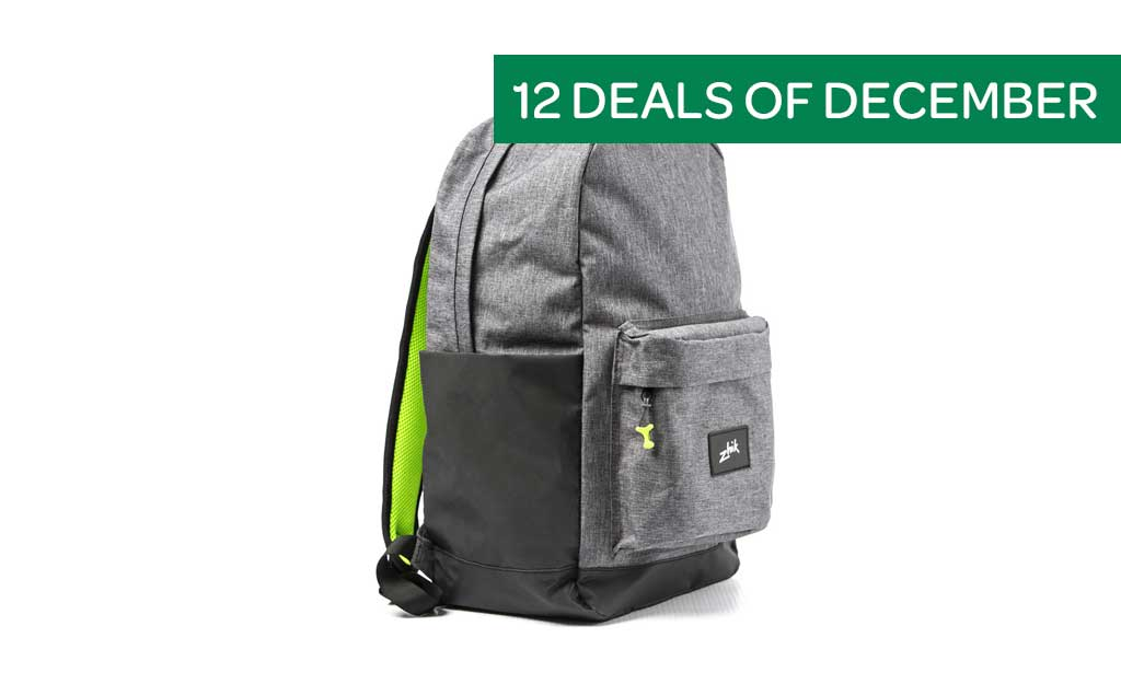 12 Deals of December - Save 30% on Zhik Sailing Bags