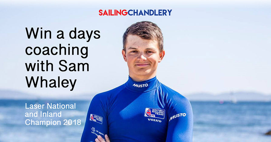 Win a days one on one coaching with Sam Whaley