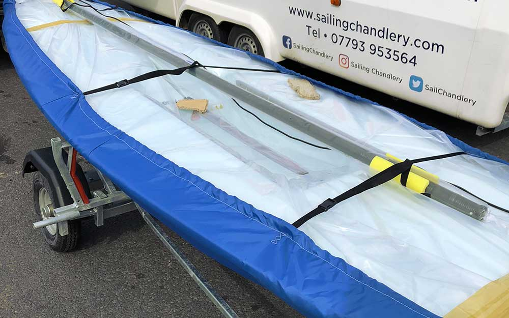 Brand new Laser sailing dinghy from Sailing Chandlery