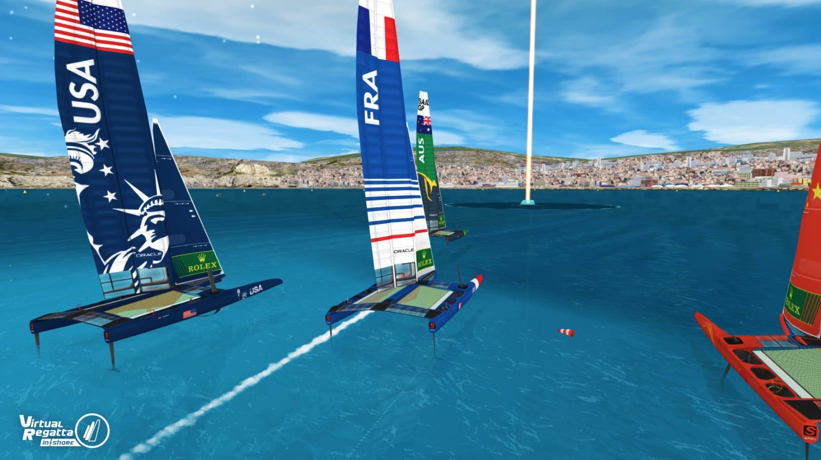Digital Sailing on Virtual Regatta