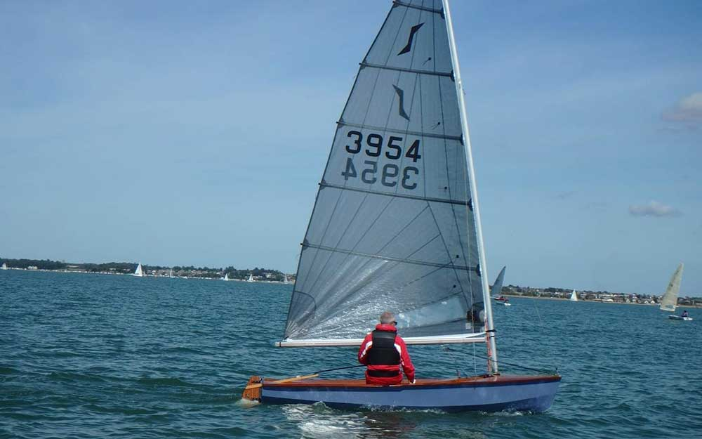 Geoff Gritton - Solo Sailing - Sailing Chandlery Sponsored Sailor