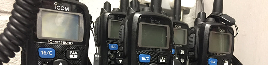 iCom Handheld VHF Radios for Local Sailing Club