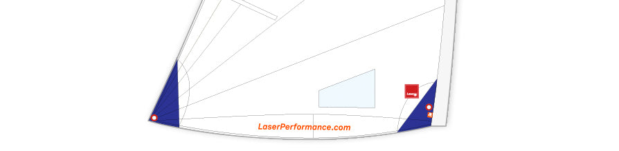 Laser Sails from Laser Performance