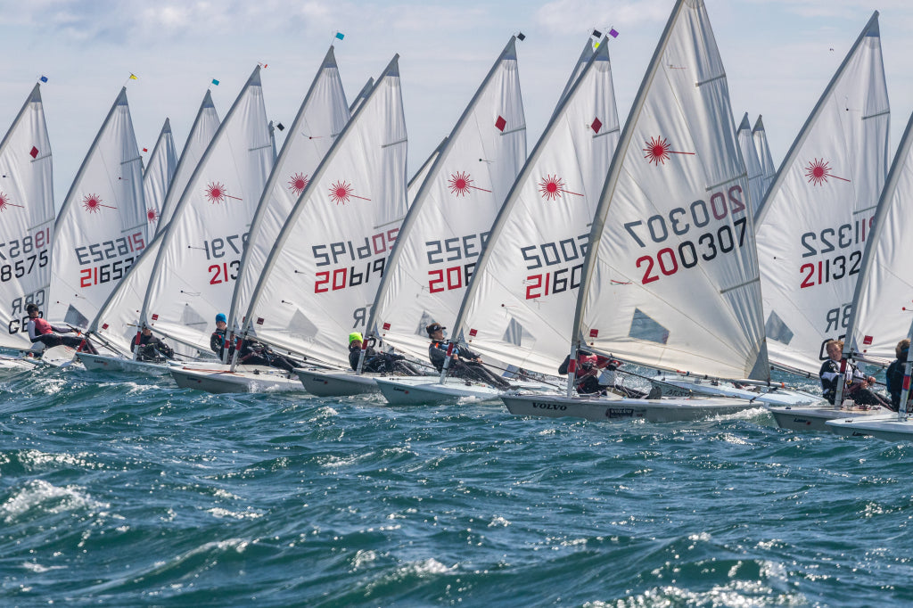 Laser Sailing at the UK National Championships