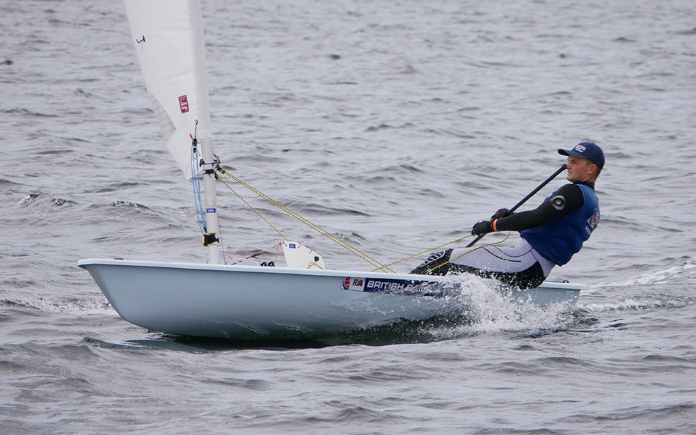 Sam Whaley - Laser sailing