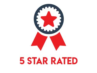 5 Star Customer Rated