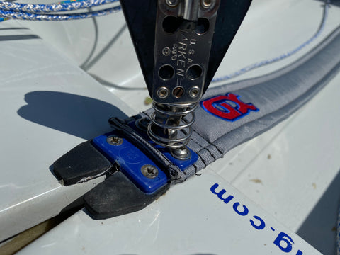 New Laser Toe Strap Fitted - Replacing Your Laser Hiking Strap