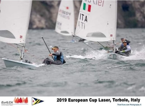 Ben Flower - Laser Sailing on Lake Garda