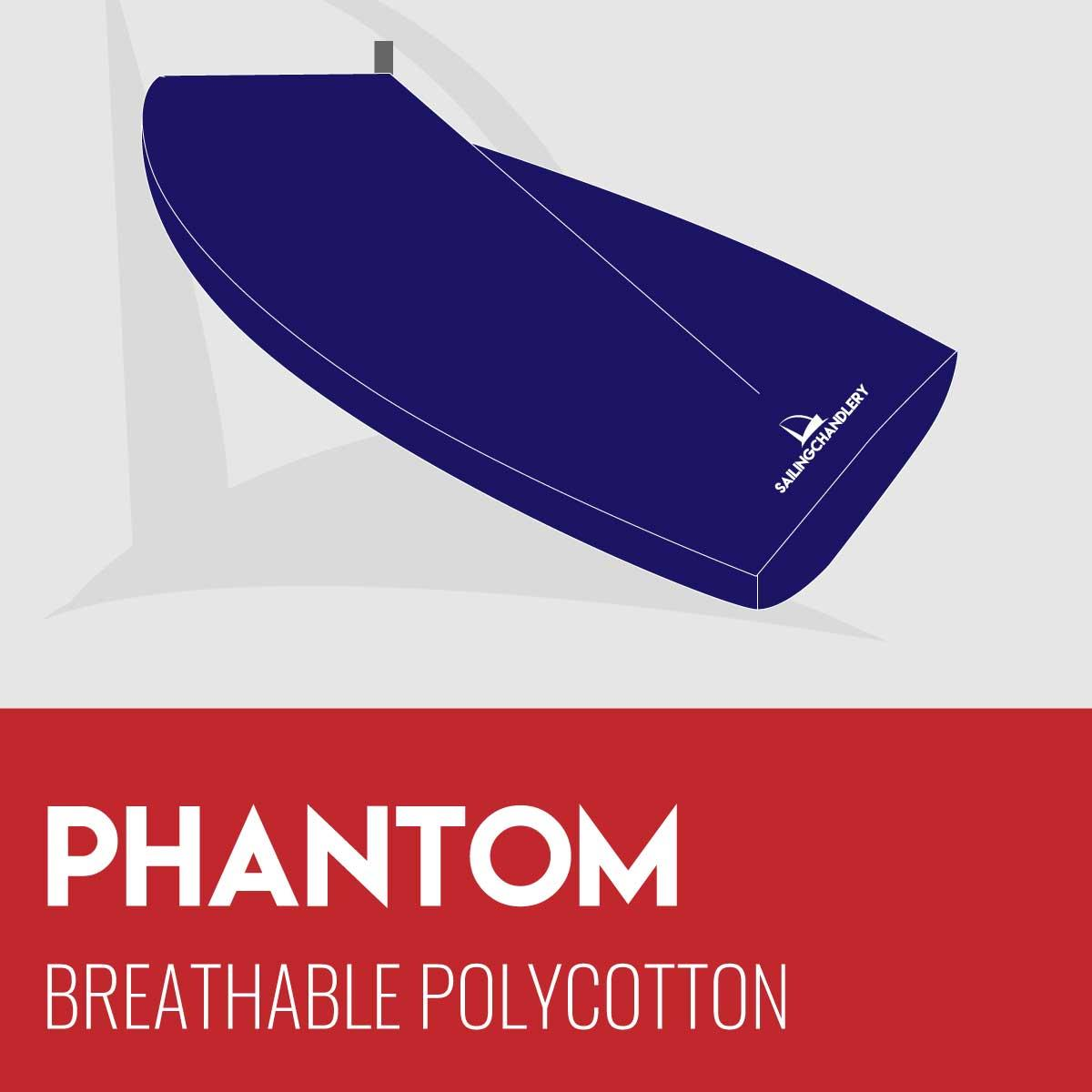 Phantom Boat Cover - Boom Up - Breathable Polycotton
