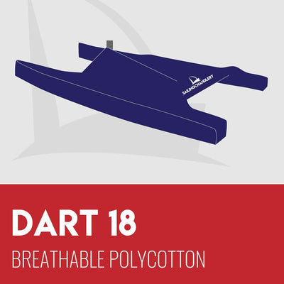 Dart 18 Boat Cover - Breathable PVC Polycotton