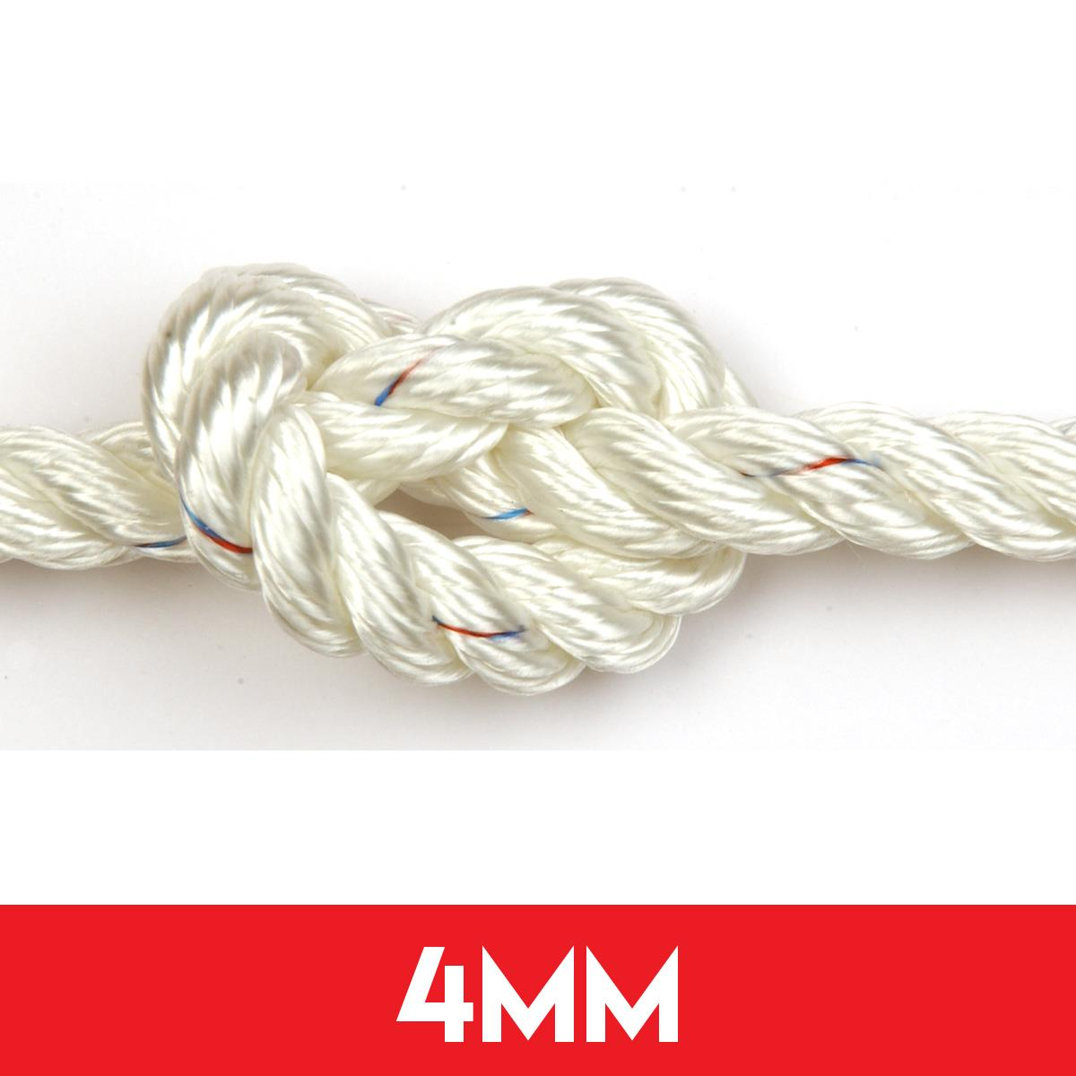 4mm 3 Strand Polyester Rope